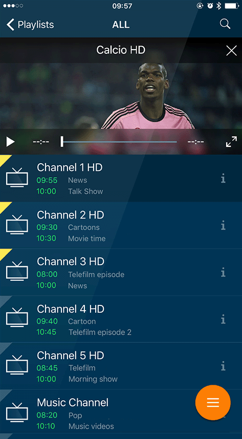 rIPTV the IPTV app for Apple TV, iPhone, iPad and Android Devices